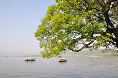 Δυτική λίμνη, Hangzhou, Κίνα στοκ εικόνες με δικαίωμα ελεύθερης χρήσης