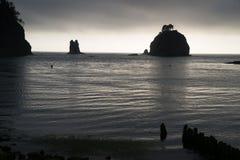 Δυτική ακτή Ειρηνικών Ωκεανών Bluffs σωρών Στοκ εικόνα με δικαίωμα ελεύθερης χρήσης