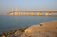 Δυτική γέφυρα νησιών Στοκ εικόνες με δικαίωμα ελεύθερης χρήσης