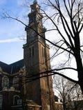 Δυτική εκκλησία Άμστερνταμ Στοκ Εικόνα