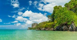 Δυτική παραλία Railay στο AO Nang, Krabi Ταϊλάνδη Στοκ εικόνες με δικαίωμα ελεύθερης χρήσης