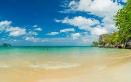 Δυτική παραλία Railay στο AO Nang, Krabi Ταϊλάνδη Στοκ Εικόνα