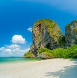 Δυτική παραλία Railay στο AO Nang, Krabi Ταϊλάνδη Στοκ Εικόνες