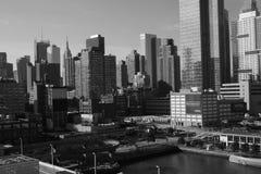 Δυτική πλευρά 2017 5 οριζόντων πόλεων της Νέας Υόρκης Στοκ Εικόνες