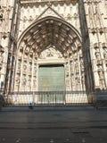 Δυτική πόρτα καθεδρικών ναών της Σεβίλλης Στοκ Φωτογραφίες