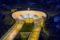 Δυτική πύλη της σήραγγας αριθ. 4 και 4A Sochi Ρωσία Στοκ Φωτογραφία