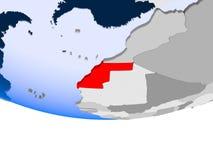 Δυτική Σαχάρα στη σφαίρα ελεύθερη απεικόνιση δικαιώματος