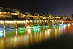 Δυτική φυσική ζώνη Wuzhen Στοκ εικόνα με δικαίωμα ελεύθερης χρήσης