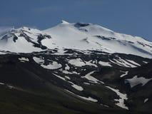 Δυτική χερσόνησος Ισλανδία - παγετώνας Στοκ Εικόνες