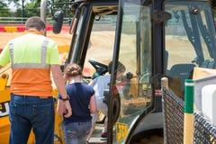 ΔΥΤΙΚΟ ΒΕΡΟΛΊΝΟ, NJ - 28 ΜΑΐΟΥ: Το Diggerland ΗΠΑ, κατασκευή το πάρκο περιπέτειας Στοκ Εικόνες