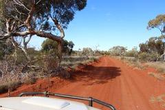 Δυτικός αυστραλιανός εσωτερικός από την οδική διαδρομή Στοκ φωτογραφία με δικαίωμα ελεύθερης χρήσης