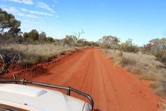 Δυτικός αυστραλιανός εσωτερικός από την οδική διαδρομή Στοκ Εικόνες