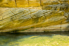Δυτικός σαφής κολπίσκος Αριζόνα την άνοιξη Στοκ Εικόνες
