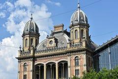 Δυτικός σιδηροδρομικός σταθμός, πόλη της Βουδαπέστης, Ουγγαρία Στοκ Φωτογραφίες