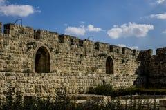 Δυτικός τοίχος στην Ιερουσαλήμ Στοκ Φωτογραφίες