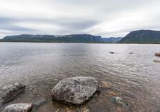 Δυτικό εθνικό πάρκο Gros Morne λιμνών ρυακιών, νέα γη Στοκ Φωτογραφίες