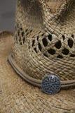 Δυτικό καπέλο αχύρου ύφους κάουμποϋ Στοκ εικόνα με δικαίωμα ελεύθερης χρήσης