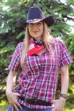 Δυτικό κορίτσι Στοκ Εικόνα