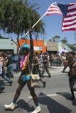 Δυτικό Χόλιγουντ, Λος Άντζελες, Καλιφόρνια, ΗΠΑ, στις 14 Ιουνίου 2015, 40η ετήσια ομοφυλοφιλική παρέλαση υπερηφάνειας για την Κοι Στοκ φωτογραφία με δικαίωμα ελεύθερης χρήσης