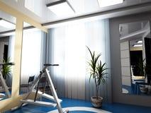 δωμάτιο άσκησης Στοκ φωτογραφία με δικαίωμα ελεύθερης χρήσης