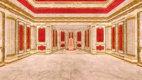 Δωμάτιο ακροατηρίων ελεύθερη απεικόνιση δικαιώματος
