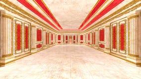 Δωμάτιο ακροατηρίων διανυσματική απεικόνιση