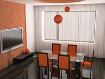 δωμάτιο γευμάτων Στοκ φωτογραφία με δικαίωμα ελεύθερης χρήσης