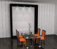 δωμάτιο γευμάτων Στοκ Φωτογραφίες