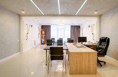 Δωμάτιο γραφείων για τις διαπραγματεύσεις και τις συνεδριάσεις Στοκ εικόνες με δικαίωμα ελεύθερης χρήσης