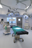 δωμάτιο διαδικασιών προ&sigma Στοκ εικόνα με δικαίωμα ελεύθερης χρήσης