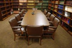 δωμάτιο δικηγορικών γραφ& Στοκ Εικόνες
