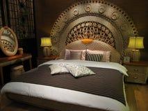Δωμάτιο επίπλων και κρεβατιών στοκ φωτογραφίες