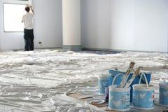 δωμάτιο ζωγραφικής σφαιρών Στοκ Εικόνες