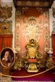 Δωμάτιο θρόνων - Isola Bella, Lago Maggiore, Ιταλία Στοκ εικόνα με δικαίωμα ελεύθερης χρήσης