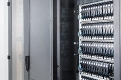 Δωμάτιο κεντρικών υπολογιστών στοκ εικόνα