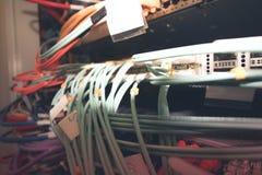 Δωμάτιο κεντρικών υπολογιστών Στοκ φωτογραφία με δικαίωμα ελεύθερης χρήσης