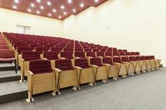 Δωμάτιο κινηματογράφων Στοκ Εικόνες