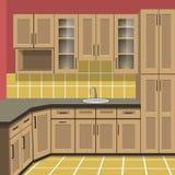 Δωμάτιο κουζινών Στοκ φωτογραφία με δικαίωμα ελεύθερης χρήσης