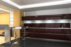 δωμάτιο κουζινών Στοκ εικόνες με δικαίωμα ελεύθερης χρήσης