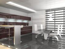 δωμάτιο κουζινών Στοκ Εικόνα
