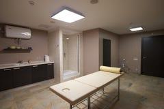 Δωμάτιο μασάζ στην αίθουσα SPA Στοκ Φωτογραφίες