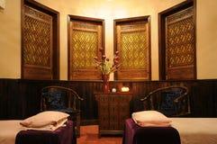 Δωμάτιο μασάζ Στοκ εικόνα με δικαίωμα ελεύθερης χρήσης
