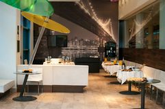 Δωμάτιο μεσημεριανού γεύματος Στοκ Φωτογραφία