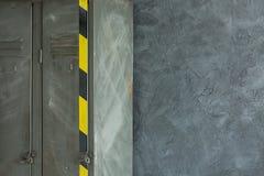 Δωμάτιο με το βιομηχανικό ράφι μετάλλων Στοκ φωτογραφίες με δικαίωμα ελεύθερης χρήσης
