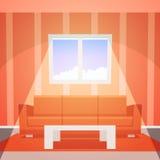 Δωμάτιο με το παράθυρο Στοκ Φωτογραφίες