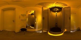 Δωμάτιο με το σολάρηο στοκ φωτογραφία με δικαίωμα ελεύθερης χρήσης