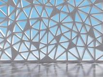 Δωμάτιο με stained-glass Στοκ φωτογραφία με δικαίωμα ελεύθερης χρήσης