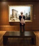 Δωμάτιο μουσείων Καλών Τεχνών του Μόντρεαλ στοκ φωτογραφίες με δικαίωμα ελεύθερης χρήσης