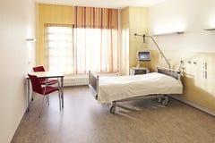 Δωμάτιο νοσοκομειακού κρεβατιού Στοκ φωτογραφία με δικαίωμα ελεύθερης χρήσης