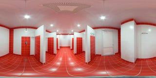 Δωμάτιο ντους με τις καμπίνες ντους Στοκ φωτογραφίες με δικαίωμα ελεύθερης χρήσης